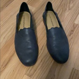 Lucky Brand Scalloped Loafers